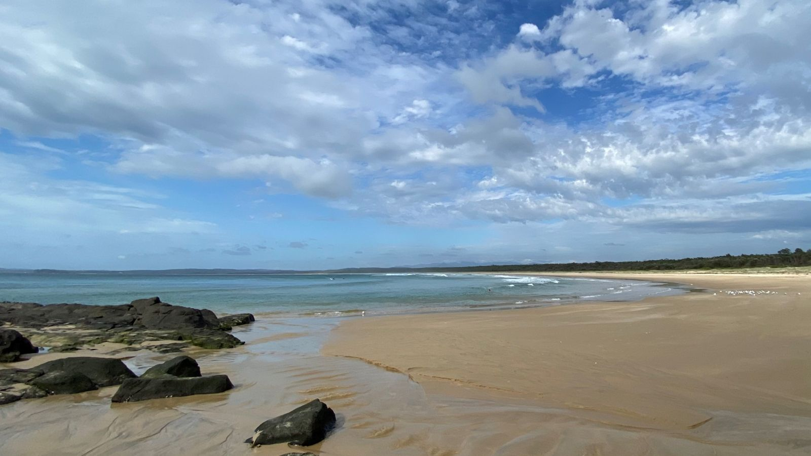 Broulee beach banner image