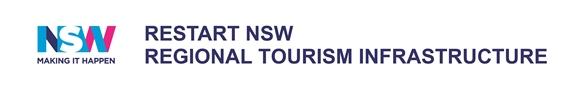 Restart NSW Regional Tourism Infrastructure logo