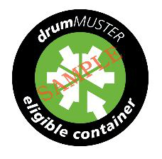 drumMUSTER container logo