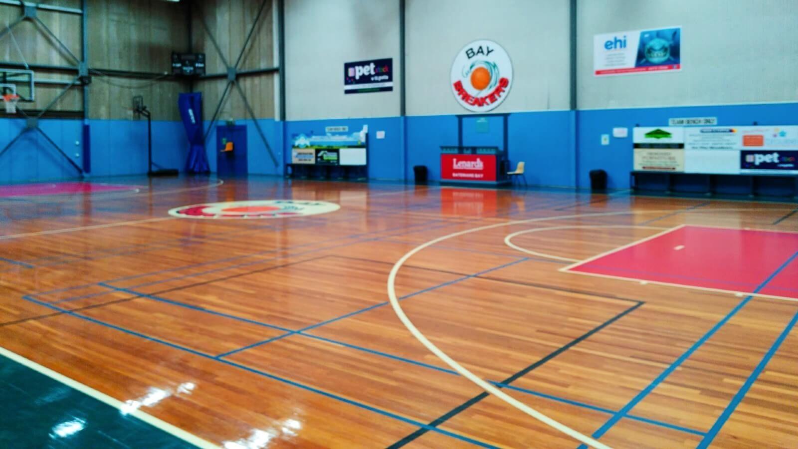 Basketball stadium at Hanging Rock  banner image