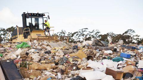 Landfill EPA pollution monitoring data
