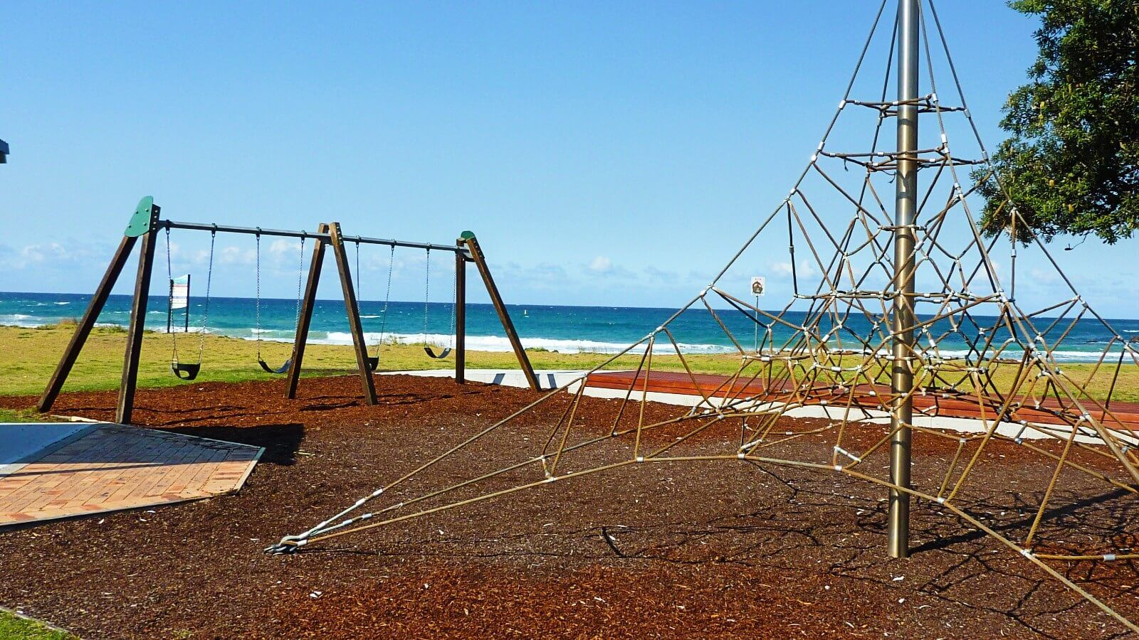 Children's playground at Malua Bay foreshore banner image