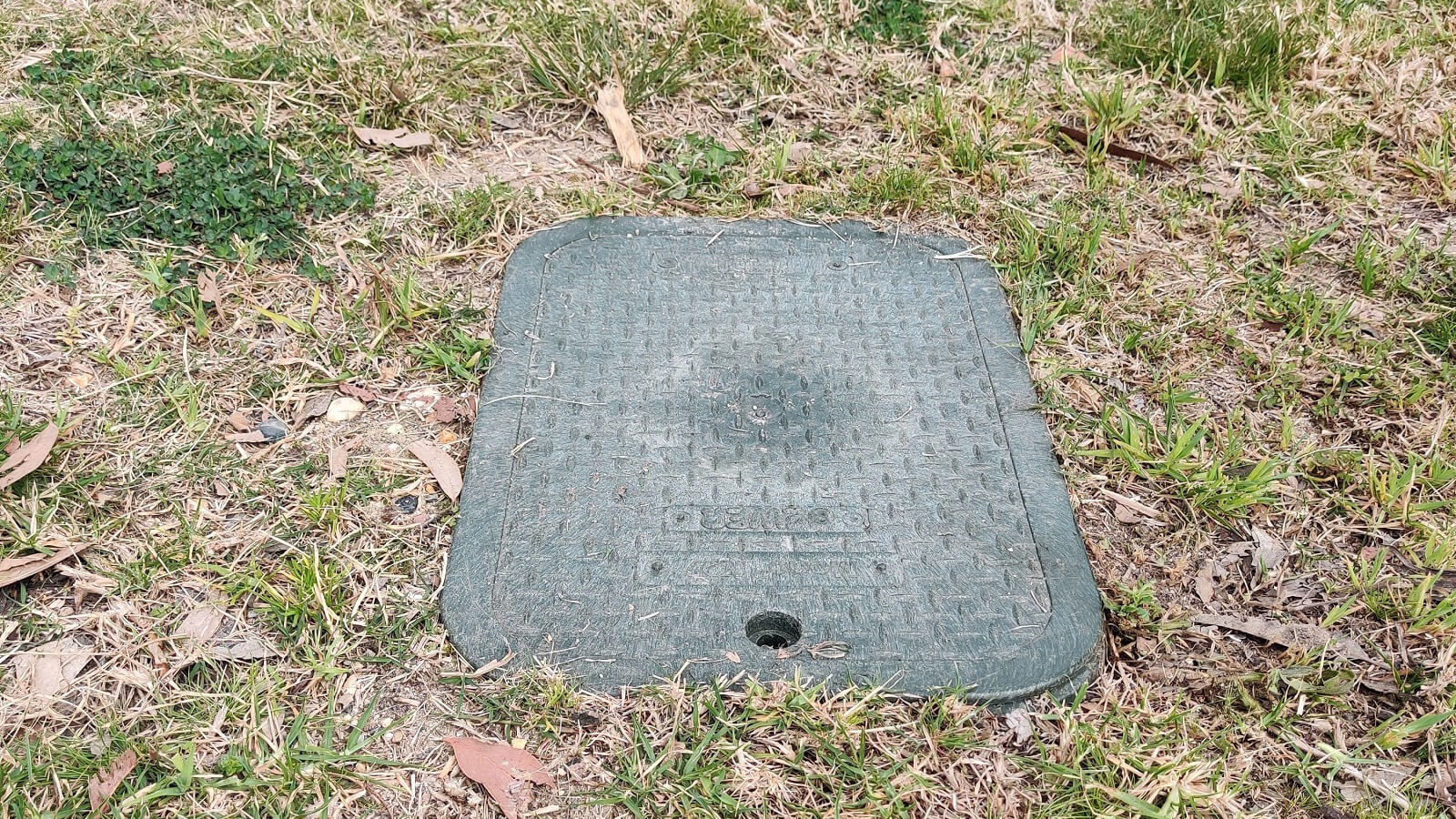 A pressure sewage system boundary kit