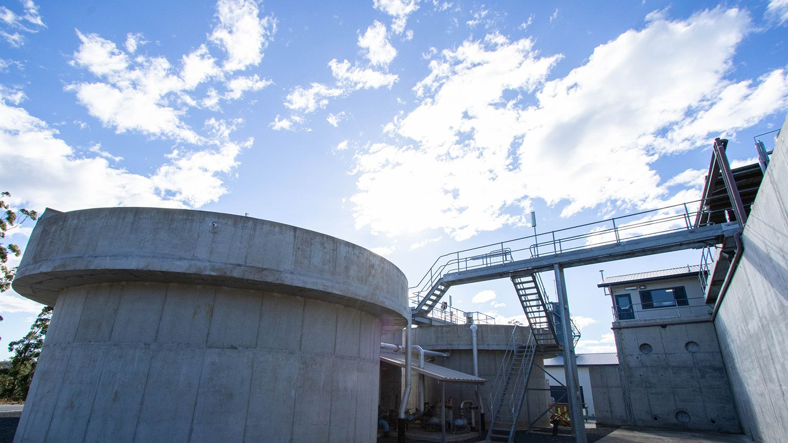 A water treatment facility banner image